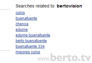 BERTOVISION YOUTUBE CULOS 2
